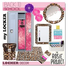 """Decorate School Locker"" by rosie305 ❤ liked on Polyvore featuring interior, interiors, interior design, Zuhause, home decor, interior decorating, Darice, BackToSchool und lockerdecor"