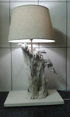 Driftwood Lamp Made In An Afternoon.