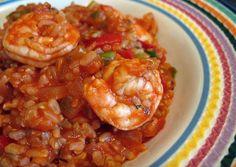 Cajun Shrimp & Rice_healthy slow cooker recipes
