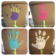Handmade Mother's Day Gifts Flower Pots