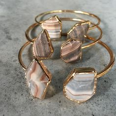 New bangles Girls BijouLimon.com #boho bracelet #etsy #bohochic #chic #igfashion #igshop #igdaily #jasper #love #california #gypsy #gold #accessories #fashion #gift #shopping #onlineboutique