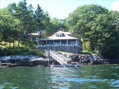Boothbay Harbor Cottage Rental: Classic Waterfront Cottage With Spectacular Views And Dock | HomeAway