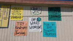 AGHS Kindness Week Days