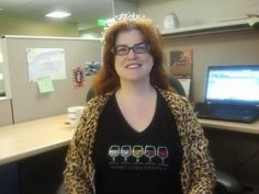 The fascinating Holly displays another beautiful tiara....how many do you have, Holly?