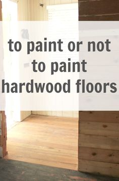 How to paint wood floors for dummies i still say this is the some great painted wood floor ideas but will it last long term in ppazfo