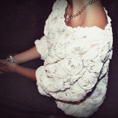 off the shoulder roses