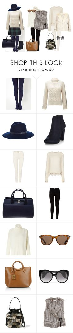 """""""Style a Chunky Knit 2"""" by styleyourselfconfident on Polyvore featuring ASOS, Moschino, Somerset by Alice Temperley, rag & bone, New Look, Oui, Rachel Comey, Chanel, 7 For All Mankind and Miss Selfridge"""