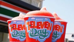 TGIF: How to Score a Free Slurpee Today #7Eleven #freebies