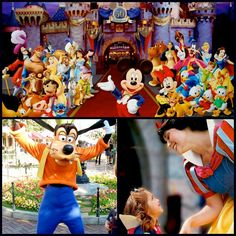 So many #Disney smiles. Who's your favorite character?