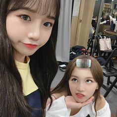 ~❤ (with Chaewon) 3 In One, Fun To Be One, My Girl, Cool Girl, Bts Concept Photo, Pop Idol, Dream Hair, Just Amazing, Korean Girl Groups