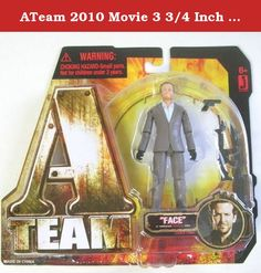 ATeam 2010 Movie 3 3/4 Inch Action Figure Templeton Faceman Peck Bradley Cooper. The ATeam is set to invade your home with an actionpacked collection of highly detailed 3 inch Action Figures. Now you can collect all of your favorite characters and recreate your favorite ATeam moments. Perfect for collectors who have been a fan of the team for years or for those just getting in on the action. Available as Sgt. Bosco B.A. Baracus, Col. John Hannibal Smith, Capt. Howling Mad Murdock, Lt....