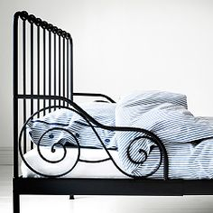 Children's Metal Bed Frame-Ikea