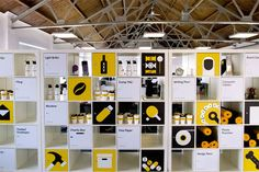 Evidently: We saw our move into our new London office as the perfect time to evolve our agency collateral, taking time to refresh design elements that still worked well – such as our logotype, set in Chevin, coupled with our minimal palette centred around yellow, that we deemed integral to our brand – with a new character set & copy style that features quirky, irreverent brand statements and asides set in Apercu, a versatile typeface from Colophon.