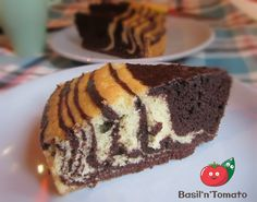 Torta zebrata morbidissima- Senza burro e latte
