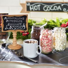DIY Chalkboard Place Card for Holiday Parties and Gatherings