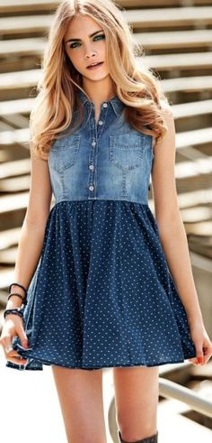 Find images and videos about dress, model and cara delevingne on We Heart It - the app to get lost in what you love. Denim Fashion, Fashion Models, Fashion Outfits, Diy Clothing, Sewing Clothes, Cara Delevingne Photoshoot, Diy Vetement, Mode Jeans, Refashion