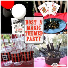 Kids and Deals: Host a Magic Show Themed Birthday Party