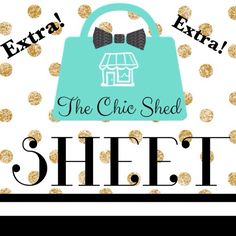 """CLOSET NEWS SUBSCRIBE TO """"THE CHIC SHED SHEET"""" FOR CLOSET NEWS, SALES, AND NEW ARRIVALS! Simply LIKE this listing to be notified! I add inventory weekly so don't miss out!!!  Abby 10% Off Bundles I ❤️ The Offer Button ❌NO PP, Trades, Holds❌  15% Off Return Buyer Bundles CLOSET NEWS! Other"""