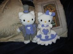 Home-Mades and Handicrafts ~ Victorian Wedding Hello Kitty