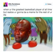 On the greatest basketball player and meme of all time: | 27 Times Mr. Krabs Was All Of Us