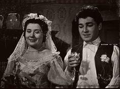 Liliomfi (1954) - Ruttkai Éva (Erzsi), Soós Imre (Gyuri) Hungary, Movie Tv, Tv Series, Artist, Watch, Travel, Clock, Viajes, Artists