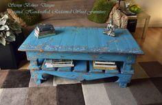Rustic Reclaimed Wood Coffee Table Hand by StevenBowlerDesigns