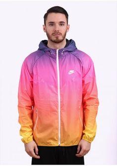 Nike Apparel Sunset Windrunner - Purple / Pink