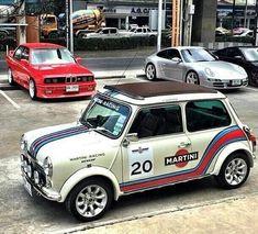 from - Mini Martini. Owner: Love it Share it Like it. Mini Cooper Classic, Classic Mini, Classic Cars, Mini Morris, Gt Turbo, Mini Copper, Morris Minor, Smart Car, Car Wrap