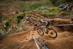 Mountainbike cross country race