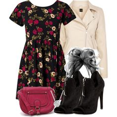 """Lydia Inspired Date Outfit"" by veterization on Polyvore"