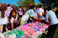 An article about Elon's first Holi Celebration!