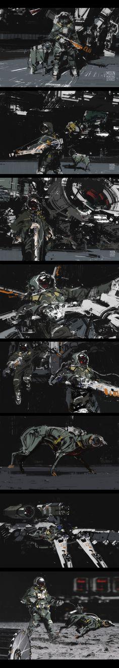 Moon hunting service by jamajurabaev