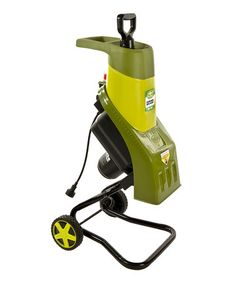 Take a look at this Electric Wood Chipper/Shredder by Sun Joe on #zulily today! $115 !!