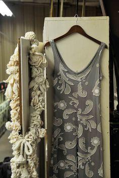 alabama chanin scarf | Alabama Chanin The High Priestess of Handmade Couture