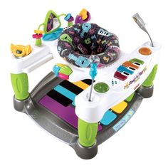 Fisher-Price Superstar Step N Play Piano - this thing looks so cool. I bet babies have a ball with it. $89.99