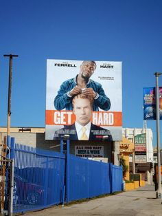 Get Hard film billboard
