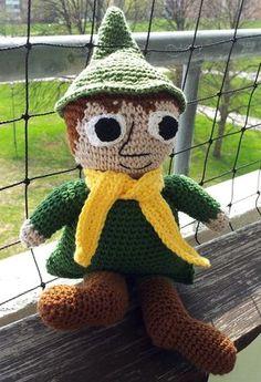 Crochet Toys, Knit Crochet, Tove Jansson, Textiles, Free Pattern, Snoopy, Crafty, Dolls, Christmas Ornaments