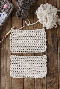 El súper tutorial Foto a Foto que estábais esperando. Cómo hacer un bolsazo de Trapillo Love Crochet, Learn To Crochet, Crochet For Kids, Knit Crochet, Crochet Stitches Patterns, Crochet Designs, Cotton Cord, Crochet Headband Pattern, Crochet Wedding