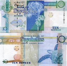 SEYCHELLES 10 RUPEES ND(1998)(2005) P-36b UNC   eBay
