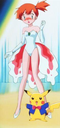 Misty's Goldeen showgirl costume - Pokemon