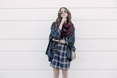 Poncho x Plaid  Old Navy TOBRUCK AVE