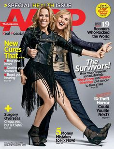 Melissa Etheridge and Sheryl Crow Talk Sex, Cancer Battles and Life After 50 | E! Online Mobile