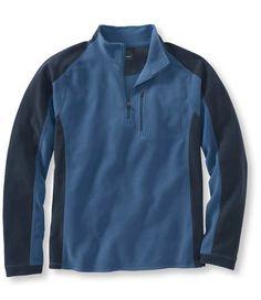 Bean's Quarter-Zip Fitness Fleece, Colorblock  #bean #fleece #colorblock #top #tee #shirt #clothing #clothes #apparel #men #fashion #coffeetable  Found on www.coffeetable.com!
