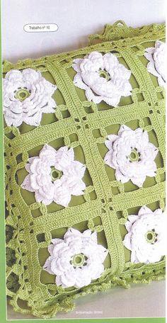 ALMOFADAS_TAPETES _ CORTINAS croche - lala - Picasa Webalbums