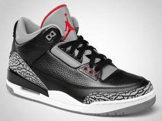 Air Jordan 3 Black Cement Jordan Negras 8ef01faaf
