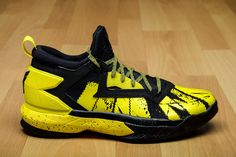 adidas d lillard 2 black yellow 1 g4fito