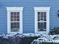 Window Exterior Trim Ideas - Style & Designs
