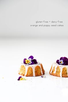 This is just another quick blog post for one of my favourite cakes. It uses whole oranges which gives it that bright orange colour. I decorated them with a glaze and edible pansies, because flowers…