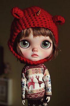 Renata Nomad, Vainilladolly Blythe doll Custom OOAK