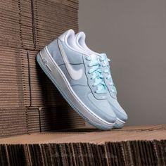 Nike Air Force 1 (GS) Glacier Blue  White - Footshop 3510bc71fc